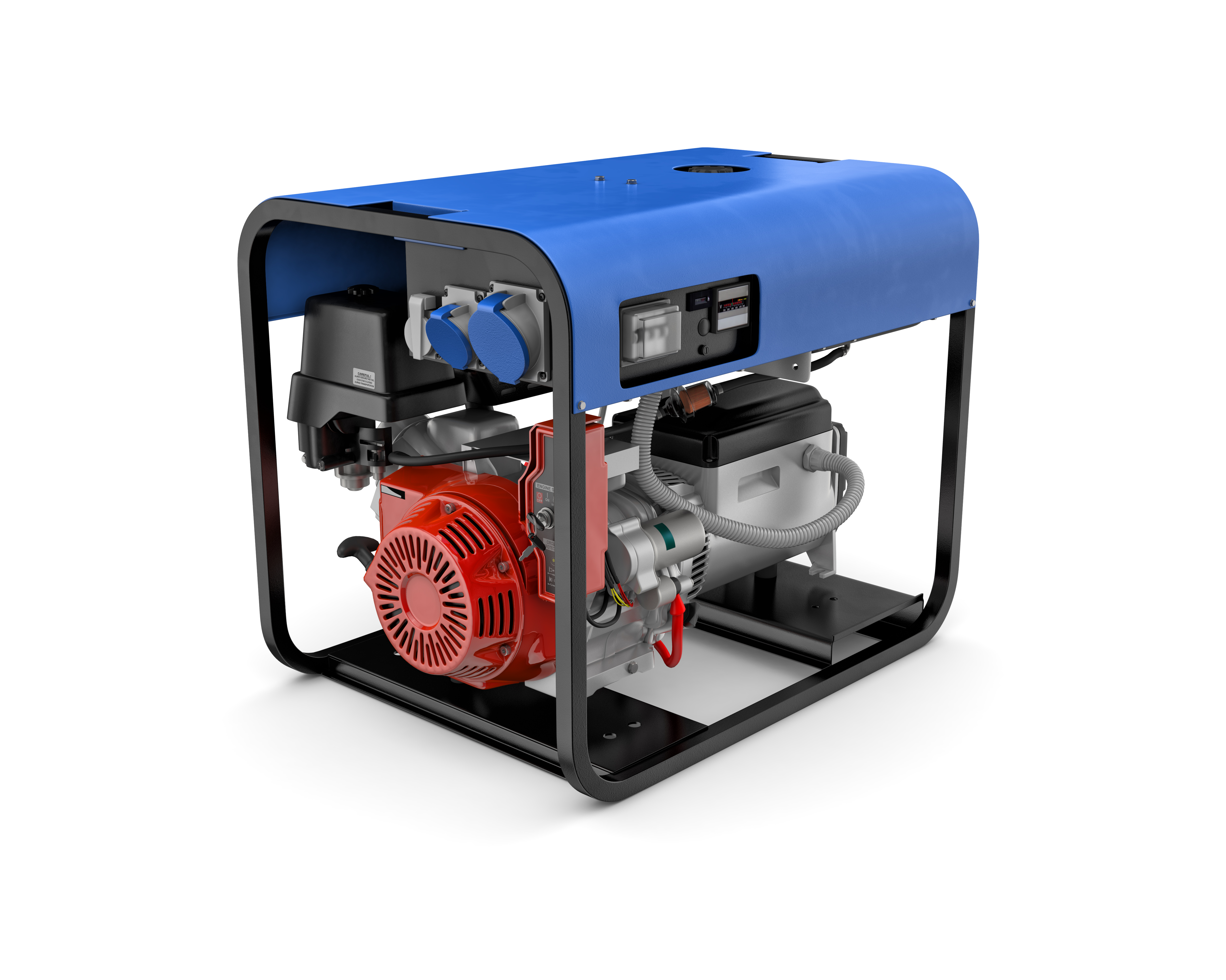 power generator is a source of electrical power when main power fails