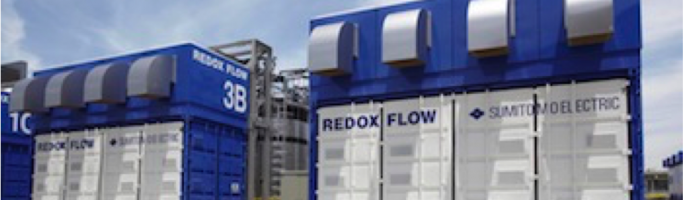 Vanadium Redox Flow Battery (VRFB) For Solar Storage
