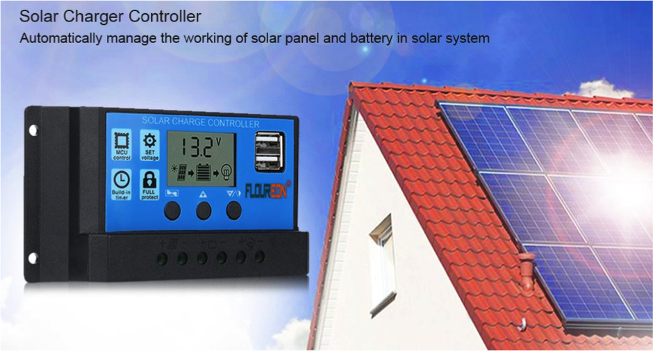 calculate a solar energy system - solar charge controller
