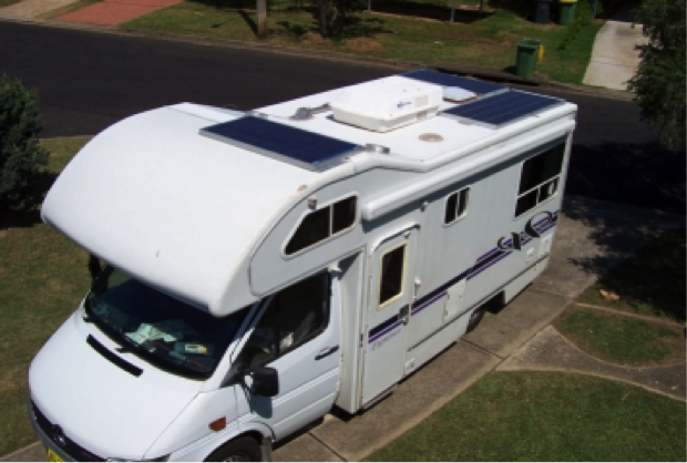 solar panels for motorhomes