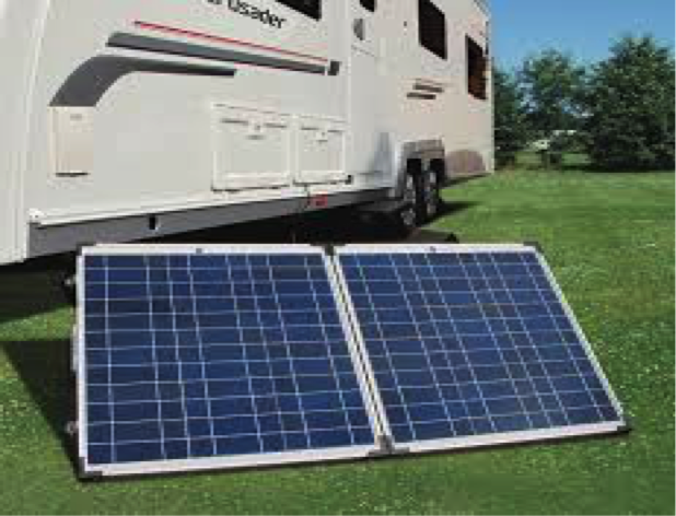 portable solar panels for motorhomes