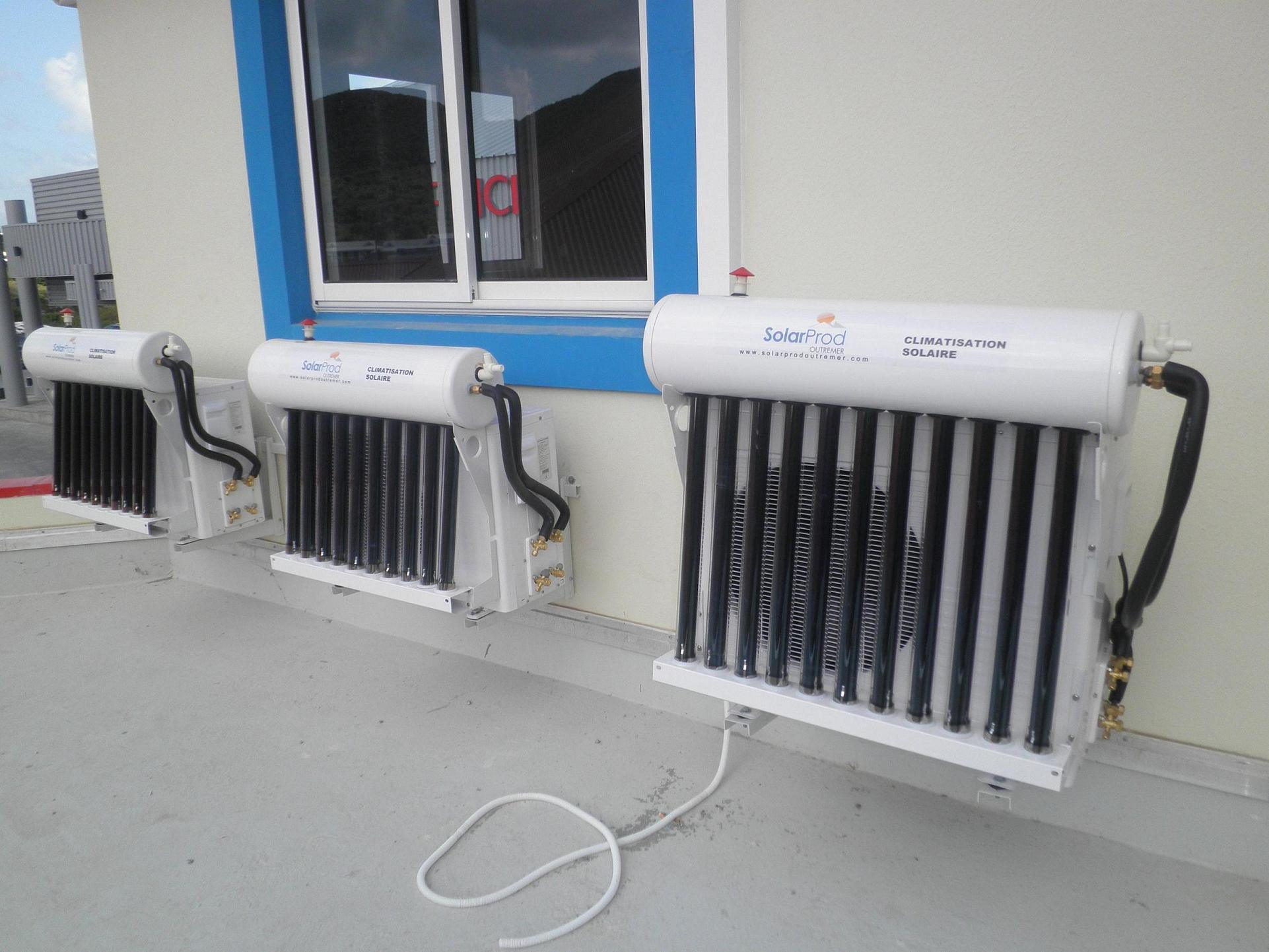 Solar Power For Air Conditioning